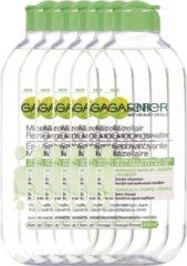 Garnier Skinactive Face SkinActive - Micellair Reinigingswater voor de Vette Huid - 6 x 400ml – Reinigingswater