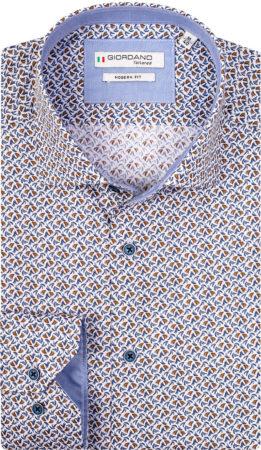 Afbeelding van Bruine Giordano Overhemd 107858