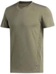 Groene Adidas Aeroready trainings T-shirt van gerecycled polyester