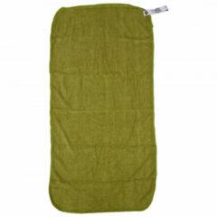 Care Plus - Travel Towel Microfibre - Microvezelhanddoek maat 40 x 80 cm, turquoise