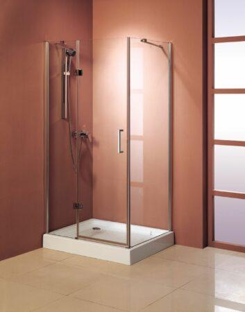 Afbeelding van Lambini Designs Dortmund douchecabine vierkant 90x90cm