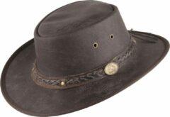Scippis Lederen hoed Springbrook bruin, M