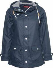 Donkerblauwe Navy dames regenjas Peninsula Fisher van Derbe XL