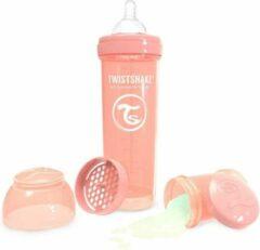 Roze Twistshake Babyfles 330ml Pastel Peach