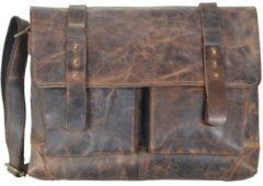 Greenland Nature Classic Messenger Tasche Leder 41 cm
