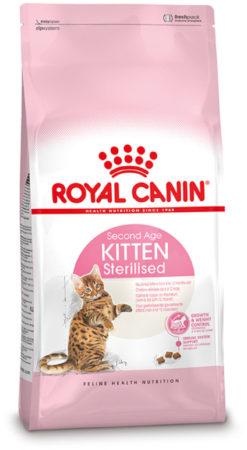 Afbeelding van Kattenvoer Droogvoer kat kitten gesteriliseerd 2 kg Royal Canin