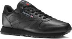 Zwarte Reebok Classics Leather Sneakers Dames - Int-Black - Maat 37