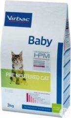 VIRBAC HPM FELINE pre neutered baby 0,4KG