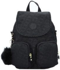 Firefly Up Medium Rucksack 31 cm Kipling black pylon emb
