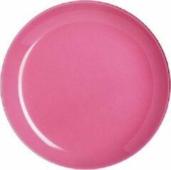 Luminarc Arty Servies - Dessert Borden - Roze - D20cm - Glas - (set van 6) En Yourkitchen E-kookboek - Heerlijke Smulrecepten