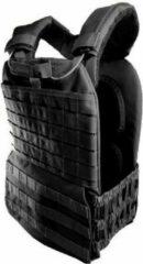 Strongman CrossFit Mobility gewichtsvest (15 kg) zwart