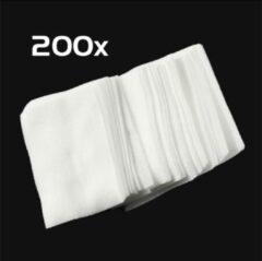 DW4Trading® Nail wipes 5,6x3,7 cm 2x100 stuks