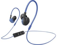 Hama Active BT Bluetooth Sport Oordopjes In Ear Headset, Volumeregeling, Bestand tegen zweet Blauw