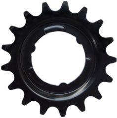Tandwiel kmc e-bike achter shimano nexus 18t cro-mo staal zwart 332 - ZWART