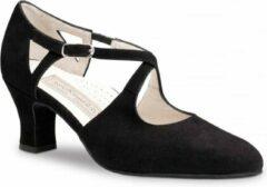 Zwarte Werner Kern Gala Dames Dansschoenen - 6 Centimeter Hak - Schoenmaat 40,5