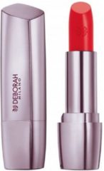 Koraalrode Korres Deborah Milano Red Shine Lipstick Spf15 07 Coral 4.4g