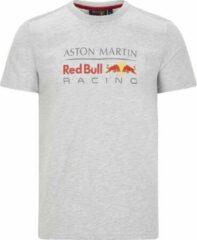 Grijze Red Bull Racing Large Logo Tee