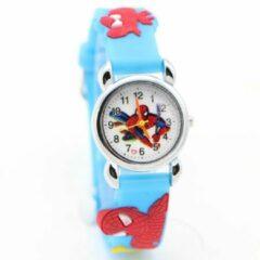 12Getit Spiderman kinder horloge lichtbauw
