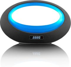Lenco BT-210 - Bluetooth Speaker met LED-verlichting en bediening via een gratis app - Zwart