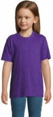 Paarse T-shirt Korte Mouw Sols Camista infantil color Morado