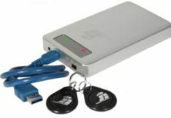 Digittrade DG-RS256-4000 RS256 Externe RFID Security harde schijf (2,5 inch) 4 TB Zilver USB 3.0