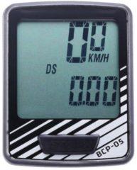 BBB cycling BBB BCP-05 DashBoard Fietscomputer - Bedraad - 7 functies - Zwart/Zilver
