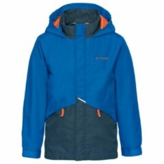 Vaude - Kid's Escape Light Jacket III - Hardshelljack maat 134/140 blauw