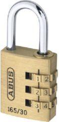 Groene ESVSHOP.nl ABUS Combi-cijferslot Serie 165, 3 cijfers, beugelhoogte 26 mm