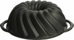 Zwarte Attica tulband bakvorm Ø 21 cm - gietijzer