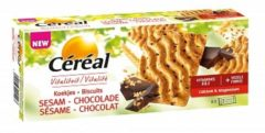 Cereal Céréal Koekjes Sesam Chocolade (200g)