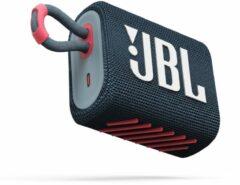 JBL Go 3 Blauw/Paars - Draadloze Bluetooth Mini Speaker