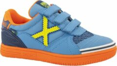 Munich Kinderen Blauwe sneaker klittenband - Maat 28