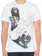 Witte Diesel Heren T-shirt S