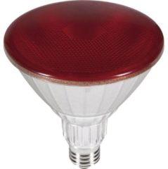 Segula LED-lamp Energielabel D (A++ - E) E27 Reflector 18 W = 120 W Rood (Ã x l) 95 mm x 140 mm 1 stuk(s)