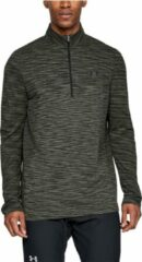 Grijze Under Armour - Vanish Seamless 1/2 zip - Heren - maat S