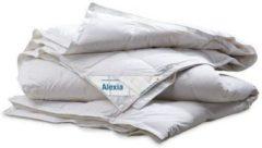 Witte Altijdgoedslapen Donzen enkel dekbed Alexia (240x220 cm)