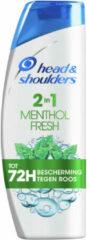 Head & Shoulders 6x Head en Shoulders Menthol Fresh 2in1 shampoo en conditioner 270 ml