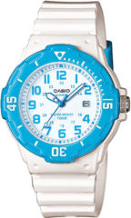 Witte Casio Collection LRW-200H-2BVEF - Horloge - 30 mm - Kunststof - Wit