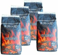 4 x Houtskool black wattle 4kg FF Prodica Holland