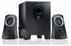 Logitech Speaker System Z313 2.1 PC-luidsprekers Kabelgebonden 25 W Zwart