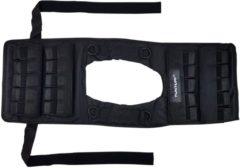 Zwarte Tunturi Gewichtvest - Verstelbaar Pro - 20 kg