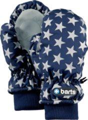 Blauwe Barts Nylon Mitts Kids Unisex Wanten - Blue Stars - Maat 3 (circa 4-6jaar)