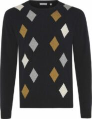 TRESANTI Pullover - Blauwe pullover - Pullover wol/nylon
