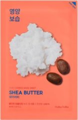Witte Holika Holika - Pure Essence Mask Sheet Shea Butter Deep Moisturizing Mask From Ecstraktem From Shea Butter 20Ml