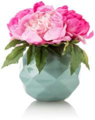 """Fleurange Pfingstrosengesteck """"Mia"""" in Vase"""