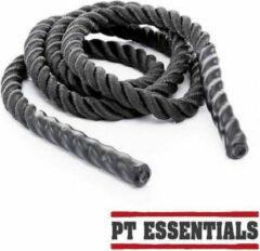 Zwarte PTessentials MONSTER crossfit springtouw / heavy jump rope