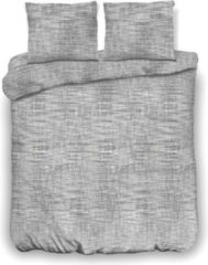 Grijze Inspirations Dekbedovertrek Washed Fiber Grey 140 x 200/220 cm