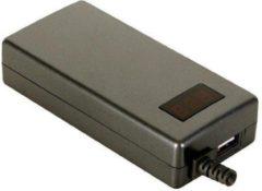Zwarte ABC-Led Universele laptop adapter 70W met USB en LED scherm