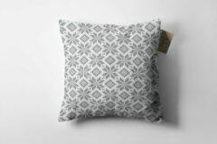 Grijze Made on Friday - Kussenhoes Knitted Freeze Binnen 50 x 50 cm - Kendal (Twill 210 gr./m2)