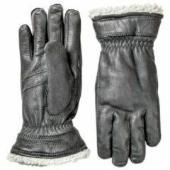 Grijze Hestra - Deerskin Primaloft - Handschoenen maat 7 grijs/zwart